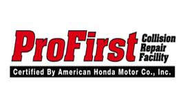 lincoln collision center profirst certified collision logo