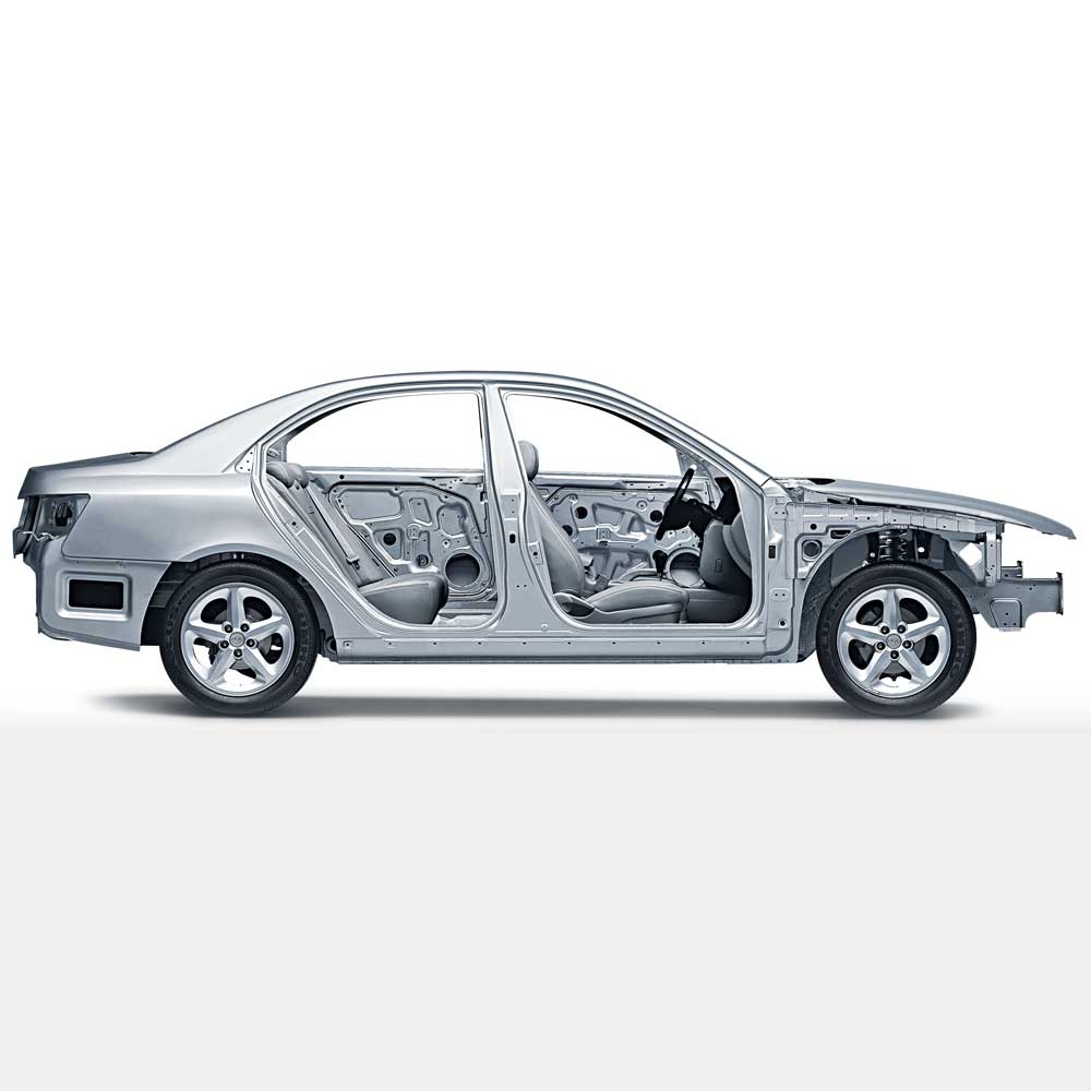 Collision Repair structural frame image